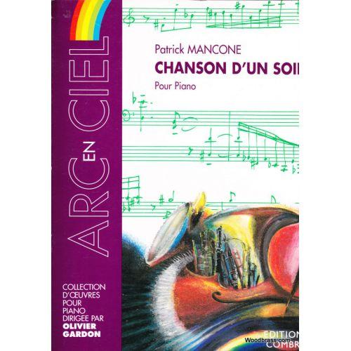 COMBRE MANCONE PATRICK - CHANSON D'UN SOIR - PIANO