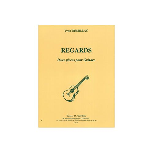 COMBRE DEMILLAC YVON - REGARDS : REVERIE - NOSTALGIE - GUITARE