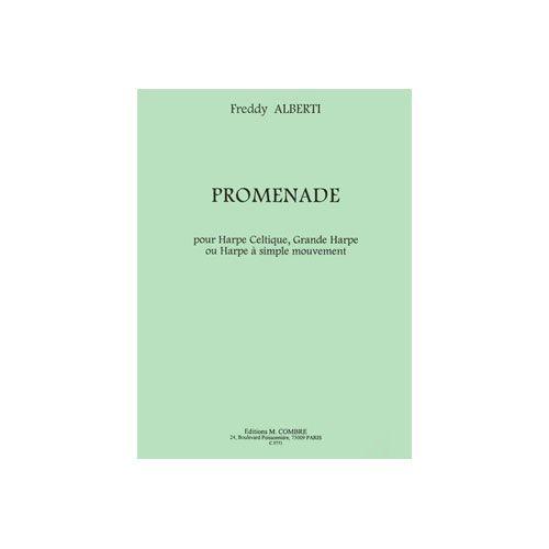 COMBRE ALBERTI FREDDY - PROMENADE - GRANDE HARPE OU HARPE A SIMPLE MOUVEMENT