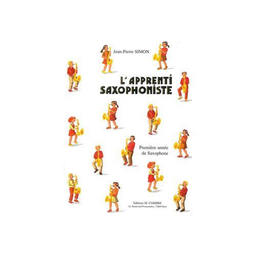 COMBRE SIMON JEAN-PIERRE - L'APPRENTI SAXOPHONISTE