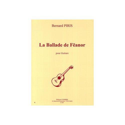 COMBRE PIRIS BERNARD - LA BALLADE DE FEANOR (3 PIECES) - GUITARE