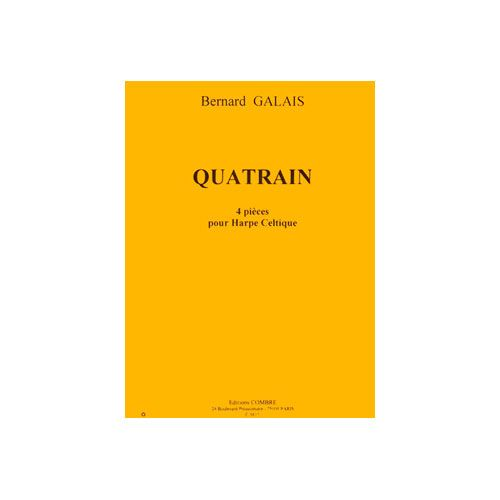 COMBRE GALAIS BERNARD - QUATRAIN (4 PIECES) - HARPE CELTIQUE