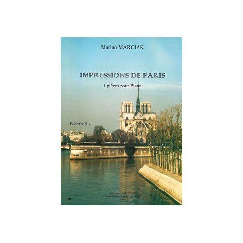 COMBRE MARCIAK MARIAN - IMPRESSIONS DE PARIS VOL.2 (5 PIECES) - PIANO