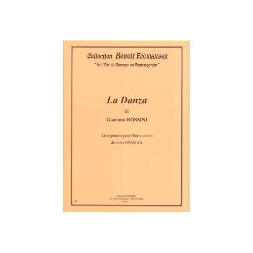 COMBRE ROSSINI GIOACCHINO - LA DANZA - FLUTE ET PIANO