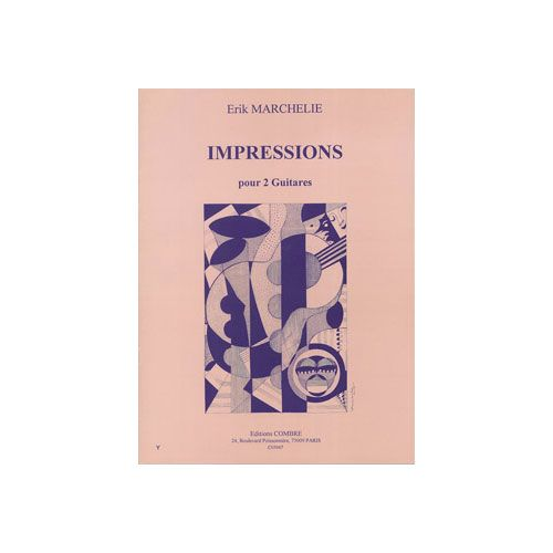 COMBRE MARCHELIE ERIK - IMPRESSIONS - 2 GUITARES