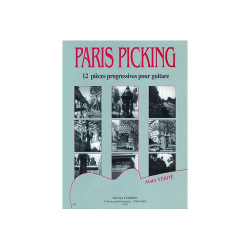 COMBRE VERITE ALAIN - PARIS PICKING (12 PIECES) - GUITARE