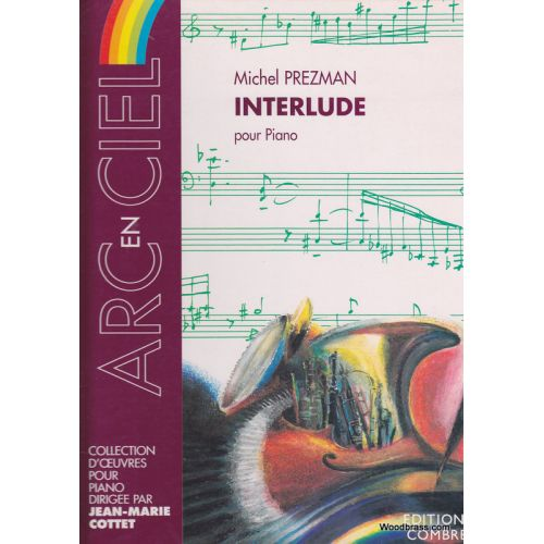 COMBRE PREZMAN MICHEL - INTERLUDE - PIANO