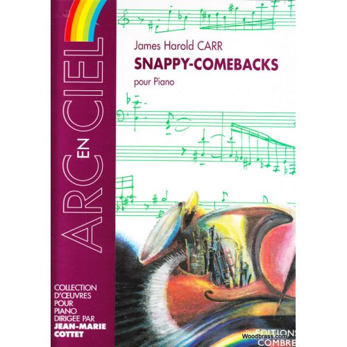 COMBRE CARR JAMES HAROLD - SNAPPY-COMEBACKS - PIANO
