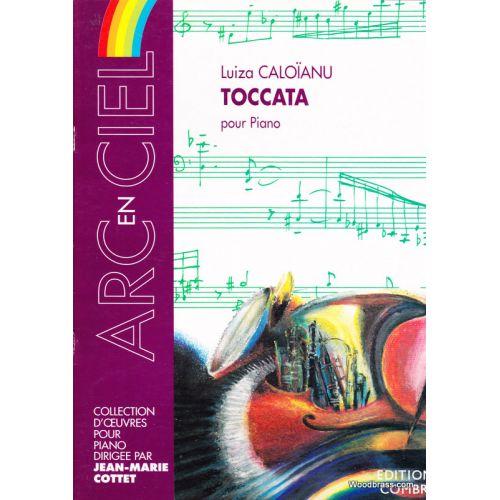 COMBRE CALOIANU LUIZA - TOCCATA - PIANO