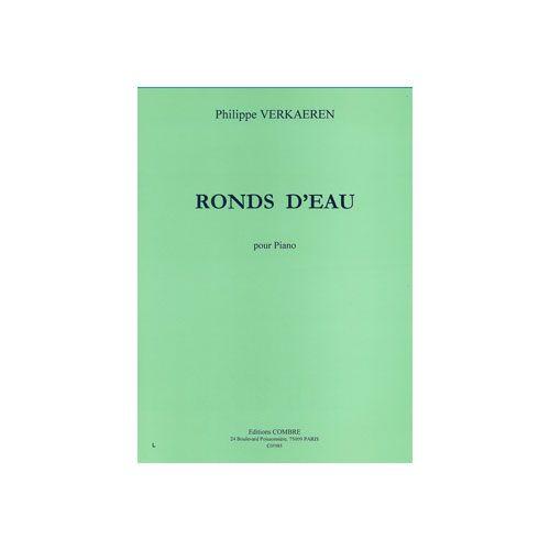 COMBRE VERKAEREN PHILIPPE - RONDS D'EAU - PIANO