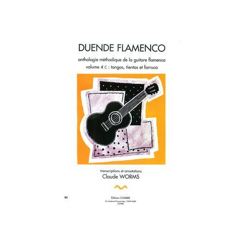 COMBRE WORMS CLAUDE - DUENDE FLAMENCO VOL.4C - TANGOS, TIENTOS ET FARRUCA