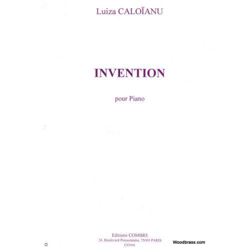 COMBRE CALOIANU LUIZA - INVENTION - PIANO