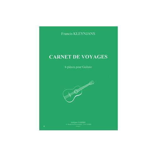 COMBRE KLEYNJANS FRANCIS - CARNET DE VOYAGES (6 PIECES) - GUITARE