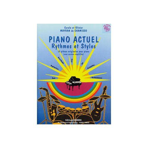 COMBRE MAYRAN DE CHAMISSO OLIVIER / MAYRAN DE CHAMISSO CAROLE - PIANO ACTUEL (RYTHMES ET STYLES) - PIANO