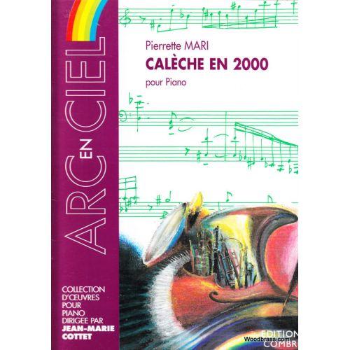 COMBRE MARI PIERRETTE - CALECHE EN 2000 - PIANO