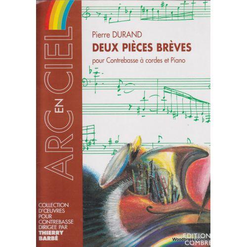 COMBRE DURAND PIERRE - PIECES BREVES (2) - CONTREBASSE ET PIANO