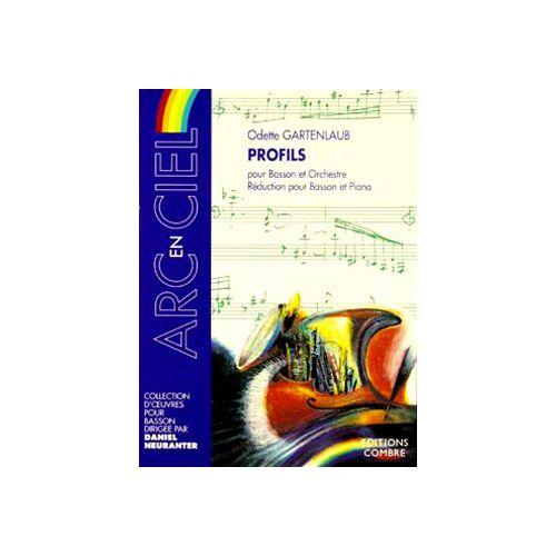 COMBRE GARTENLAUB ODETTE - PROFILS POUR BASSON ET ORCHESTRE - BASSON ET PIANO (REDUCTION)