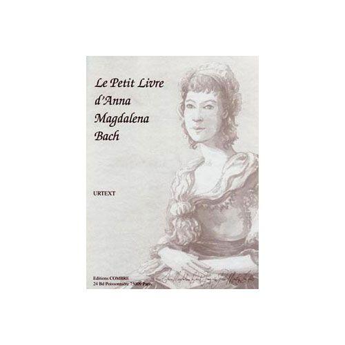COMBRE BACH JOHANN SEBASTIAN - LE PETIT LIVRE D'ANNA MAGDALENA (URTEXT) - PIANO