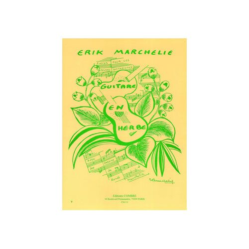 COMBRE MARCHELIE ERIK - GUITARE EN HERBE (15 PIECES) - 1 OU 2 GUITARES