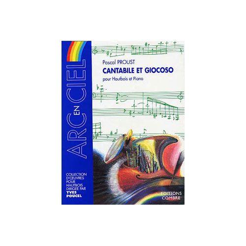 COMBRE PROUST PASCAL - CANTABILE ET GIOCOSO - HAUTBOIS ET PIANO