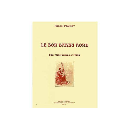 COMBRE PROUST PASCAL - LE BON BARBU ROND - CONTREBASSE ET PIANO