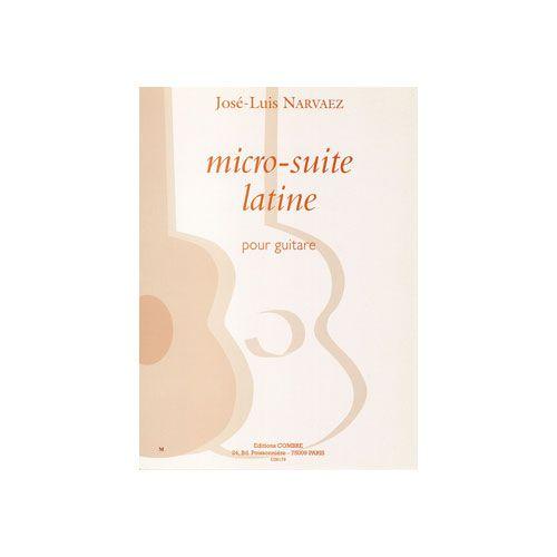 COMBRE NARVAEZ JOSE-LUIS - MICRO-SUITE LATINE (3 PIEVES) - GUITARE