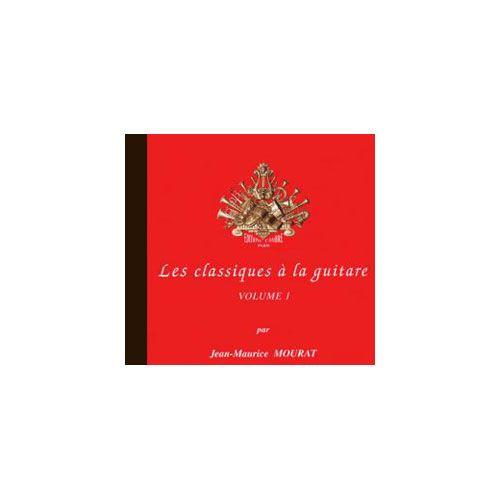 COMBRE MOURAT J.M - LES CLASSIQUES A LA GUITARE VOL.1 - CD SEUL