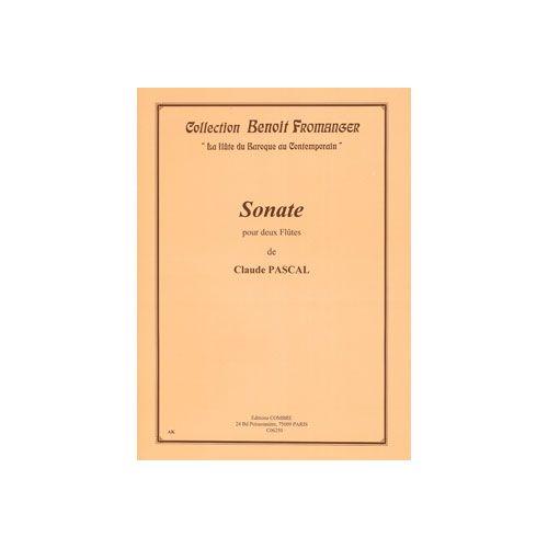 COMBRE PASCAL CLAUDE - SONATE - 2 FLUTES