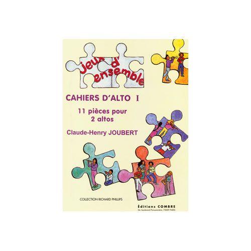 COMBRE JOUBERT CLAUDE-HENRY - CAHIERS D'ALTO I (11 PIECES) - 2 ALTOS