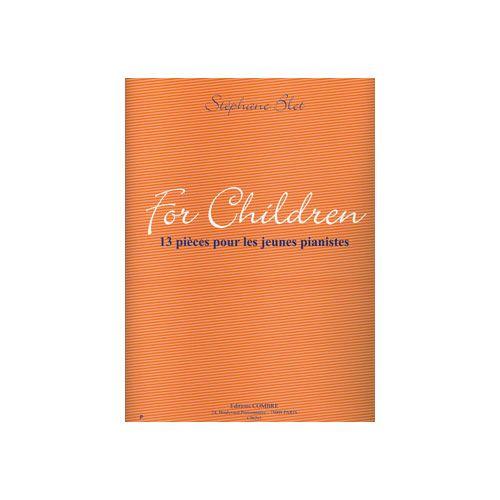 COMBRE BLET STEPHANE - FOR CHILDREN : 13 PIECES POUR LES JEUNES PIANISTES - PIANO