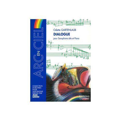 COMBRE GARTENLAUB ODETTE - DIALOGUE - SAXOPHONE ALTO ET PIANO