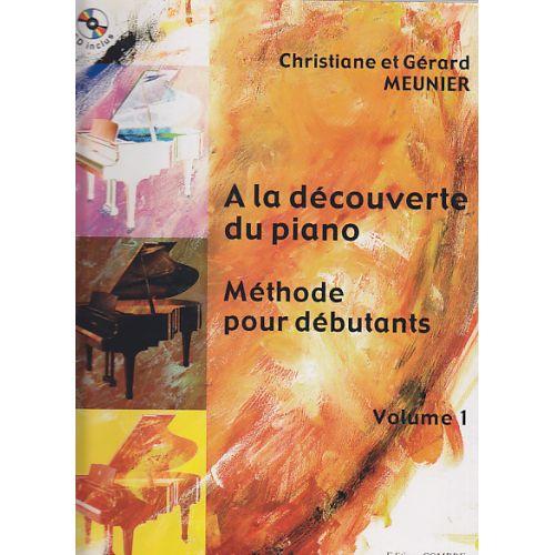 COMBRE MEUNIER - A LA DECOUVERTE DU PIANO VOL.1 +CD