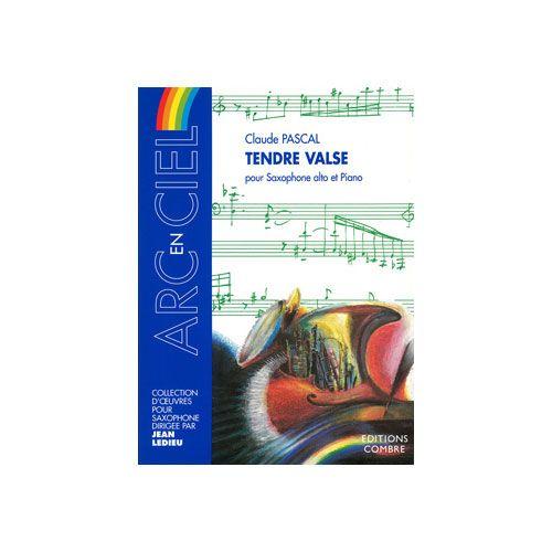 COMBRE PASCAL CLAUDE - TENDRE VALSE - SAXOPHONE ALTO ET PIANO