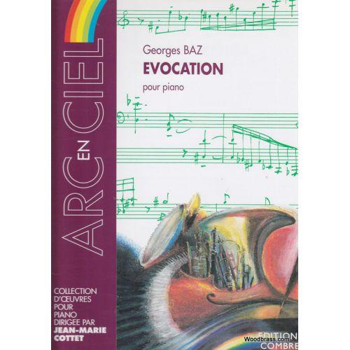 COMBRE BAZ GEORGES - EVOCATION - PIANO
