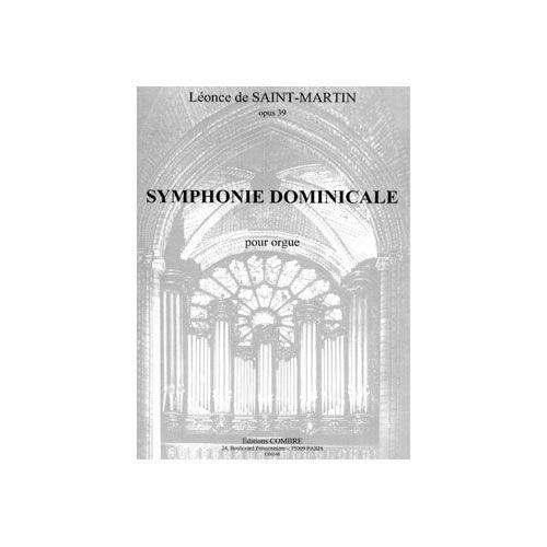COMBRE SAINT-MARTIN LEONCE DE - SYMPHONIE DOMINICALE OP.39 - ORGUE