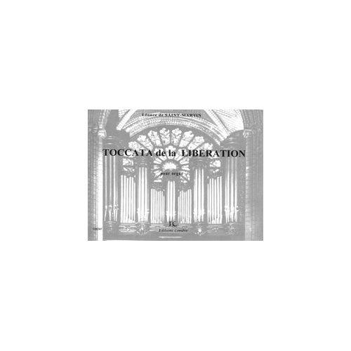 COMBRE SAINT-MARTIN LEONCE DE - TOCCATA DE LA LIBERATION OP.38 - ORGUE