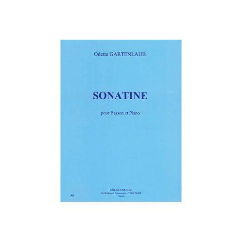 COMBRE GARTENLAUB ODETTE - SONATINE - BASSON ET PIANO