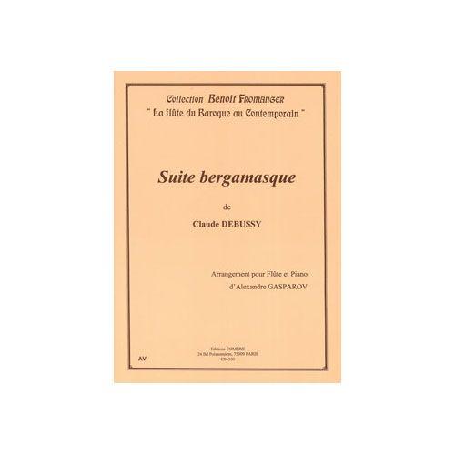 COMBRE DEBUSSY CLAUDE - SUITE BERGAMASQUE - TRANSCRIPTION POUR FLUTE ET PIANO
