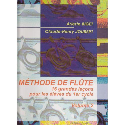 COMBRE BIGET & JOUBERT - METHODE DE FLUTE VOL.2