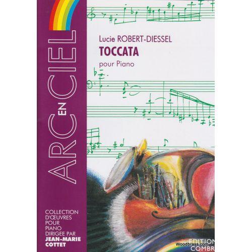 COMBRE ROBERT-DIESSEL LUCIE - TOCCATA - PIANO