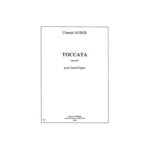 COMBRE AUBER CHANTAL - TOCCATA OP.60 - ORGUE