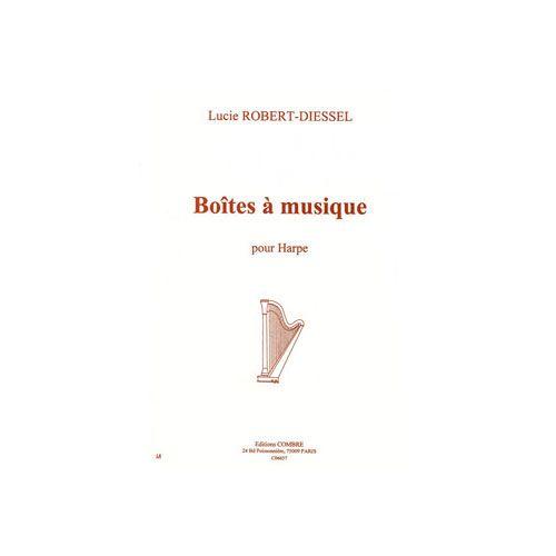 COMBRE ROBERT-DIESSEL LUCIE - BOÎTES A MUSIQUE - HARPE