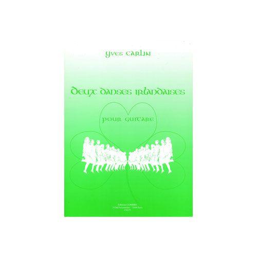 COMBRE CARLIN YVES - DANSES IRLANDAISES (2) - GUITARE