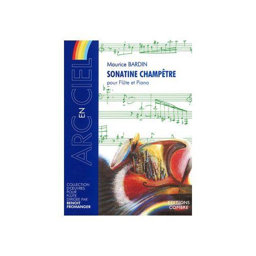COMBRE BARDIN MAURICE - SONATINE CHAMPETRE - FLUTE ET PIANO