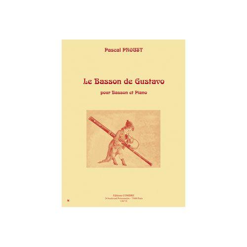 COMBRE PROUST PASCAL - LE BASSON DE GUSTAVO - BASSON ET PIANO