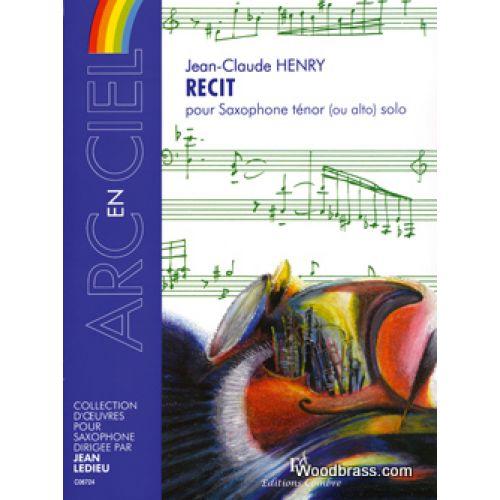 COMBRE HENRY J.C. - RECIT - SAXOPHONE & PIANO