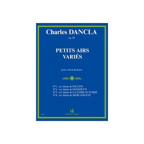 COMBRE DANCLA CHARLES - PETITS AIRS VARIES OP.89 - VIOLON ET PIANO