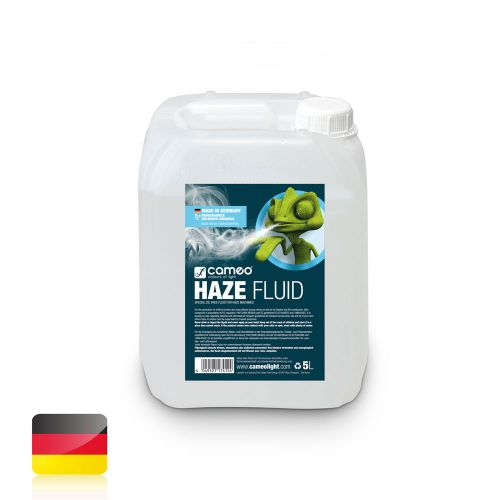 CAMEO HAZE FLUID FOR FINE FOG DENSITY AND LONG STANDING TIME, 5 L OIL-FREE