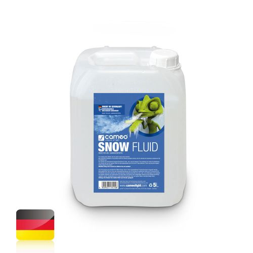 CAMEO SPECIAL FLUID FOR SNOW MACHINES FOR THE PRODUCTION OF FOAM 5 L