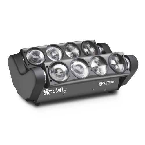 CAMEO OCTAFLY W - 8 X 10W KALTWEISS LED LICHTEFFEKT